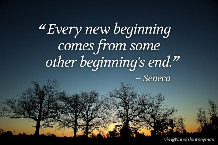 Moving and starting over