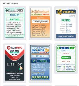 Bizzilion Monitorings